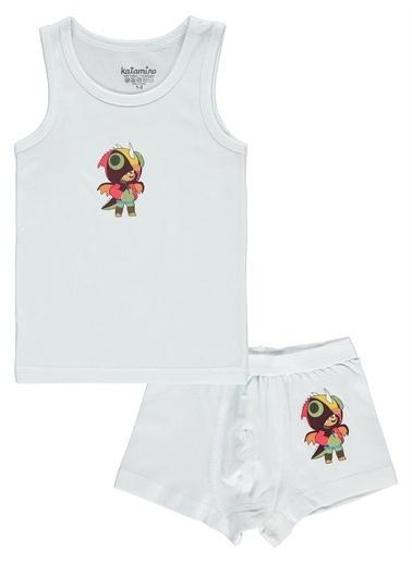 Katamino Katamino Erkek Çocuk ıç Çamaşır Takımı 4-10 Yaş Beyaz Katamino Erkek Çocuk ıç Çamaşır Takımı 4-10 Yaş Beyaz Beyaz